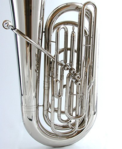 Schiller American Heritage 4-Valve Piston Tuba - Nickel Finish by Schiller (Image #1)