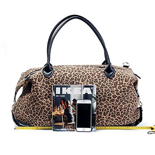 PU Patchwork Handbag Short-fur Velour Cheetah Shell Bag Leopard Shoulder Bag Oversized Travel Bag