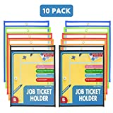 Eamay Dry Erase Pockets Write and Wipe Pockets