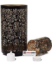 Hashcart Decorative Votive Tealight Holder | Candle Holder Fortable Decor | Set Of 2