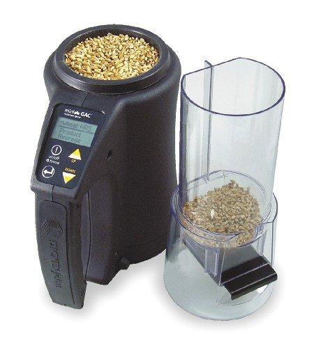 Probador de humedad de grano, de mano