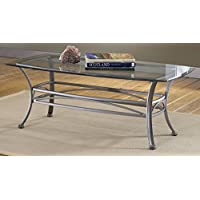 Abbington Rectangle Coffee Table, Pewter