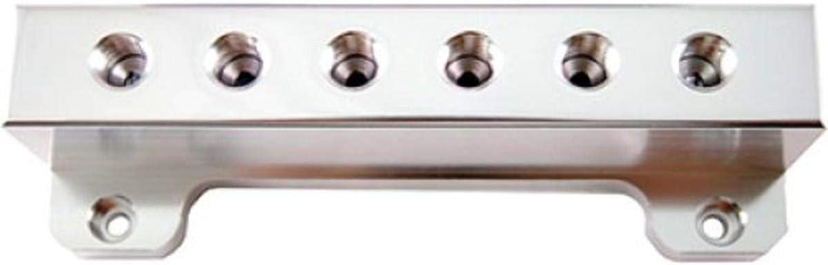Blox Racing BXAC-00403-SI Silver Vacuum Manifold Block
