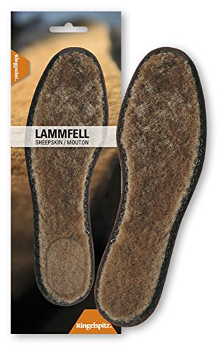 Ringpoint Lammfell Sohle / Gr. 36-47 / wärmend / weich / Made In Germany