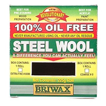 Briwax Oil-Free Steel Wool 0000 by Briwax