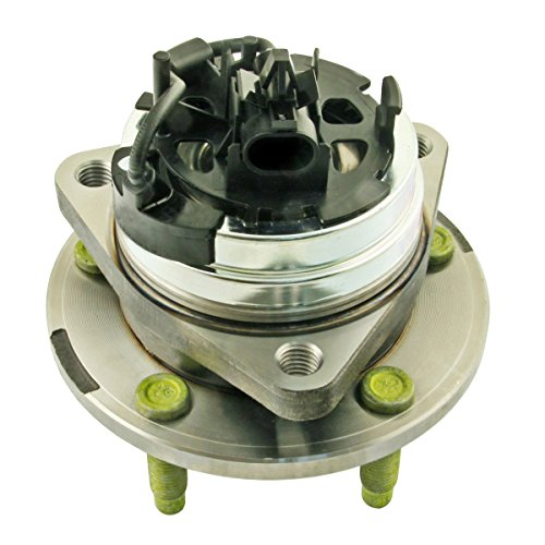 Delco Bearings - ACDelco 513214 Advantage Front Wheel Hub and Bearing Assembly with Wheel Speed Sensor and Wheel Studs