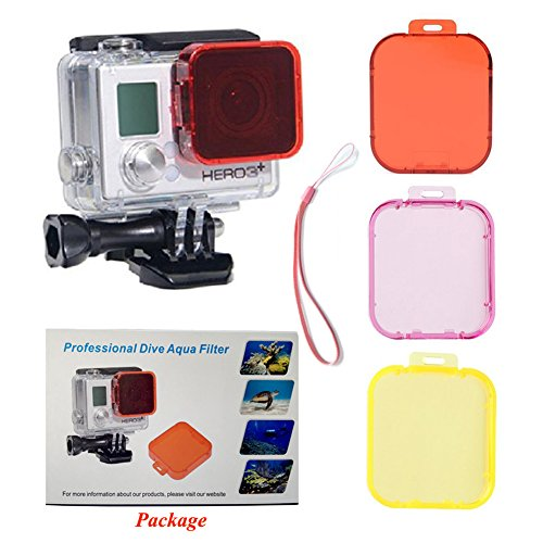TANSUO Pack Red Cameras Standard Housing product image