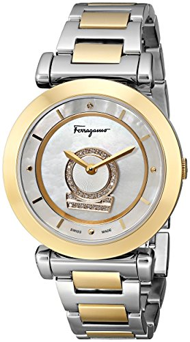 Salvatore-Ferragamo-Womens-FQ4090013-Minuetto-Two-Tone-Stainless-Steel-Watch-with-Diamond-Accent