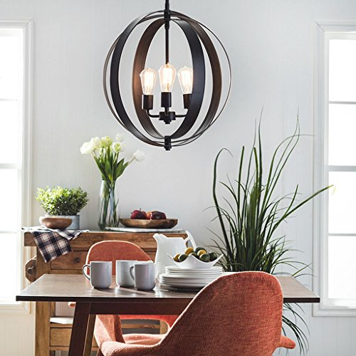 3-light Orb Chandelier, Casual, Contemporary, Modern, Transitional, A Versatile Addition to Any Room in Your Home by I Love Living