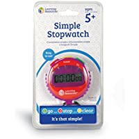 Learning Resources LER0808 Simple Stopwatch