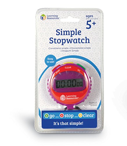 Learning Resources LER0808 Simple Stopwatch product image