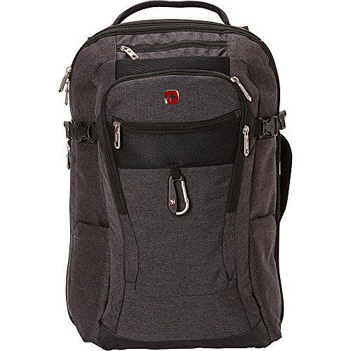 SwissGear TSA Approved 15 Inch Laptop Backpack Travel Gear 1900 - (Grey Heather/Black) (Swiss Gear Backpack Travel Laptop)