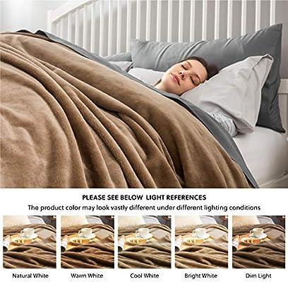50/×60 Couverture en flanelle polaire en velours massif pour lit ou canap/é Throw l/éopard
