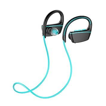 DUHOULI Auriculares Inalámbricos Deportivos Bluetooth Auriculares Impermeables Ipx7 Natación Buceo con Micrófono