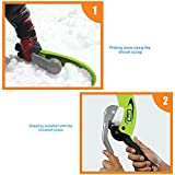 Extpro Flexible Flyer Snowball Maker and Launcher Snow Shovel Scoop for Kids and Adults Snowball Fight Kit (Blue)