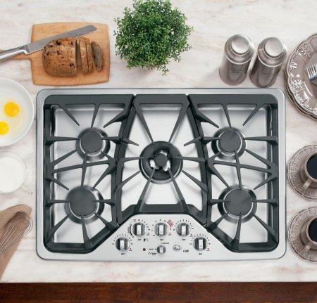 5 burner cooktop - 6