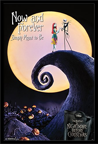 Trends International Wall Poster the Nightmare Before Christmas Now and Forever, 22.375 x 34