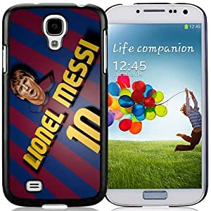 Unique DIY Designed Case For Samsung Galaxy S4 I9500 i337 M919 i545 r970 l720 With Soccer Player Lionel Messi 62 Cell Phone Case