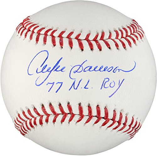 Andre Dawson Autographed Baseball (Andre Dawson Autographed Baseball with 77 NL ROY Inscription - Fanatics Authentic Certified - Autographed Baseballs)