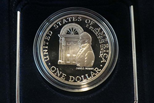 1992 W Commemorative White House Silver Dollar Proof $1 Uncirculated US Mint (1992 White House 200th Anniversary Proof Silver Dollar)