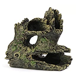 uxcell Resin Decoration aqua landscape artificial driftwood Betta wood