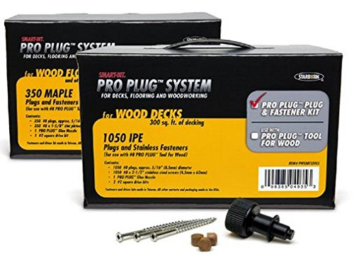 - Starborn SMART-BIT PRO PLUG System-IPE-Contractor Pack - 1050 pcs