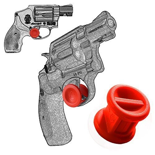 Garrison Grip TWO Micro Trigger Stop Holsters Fit Smith & Wesson Revolver J Frame All Cal s16 Red