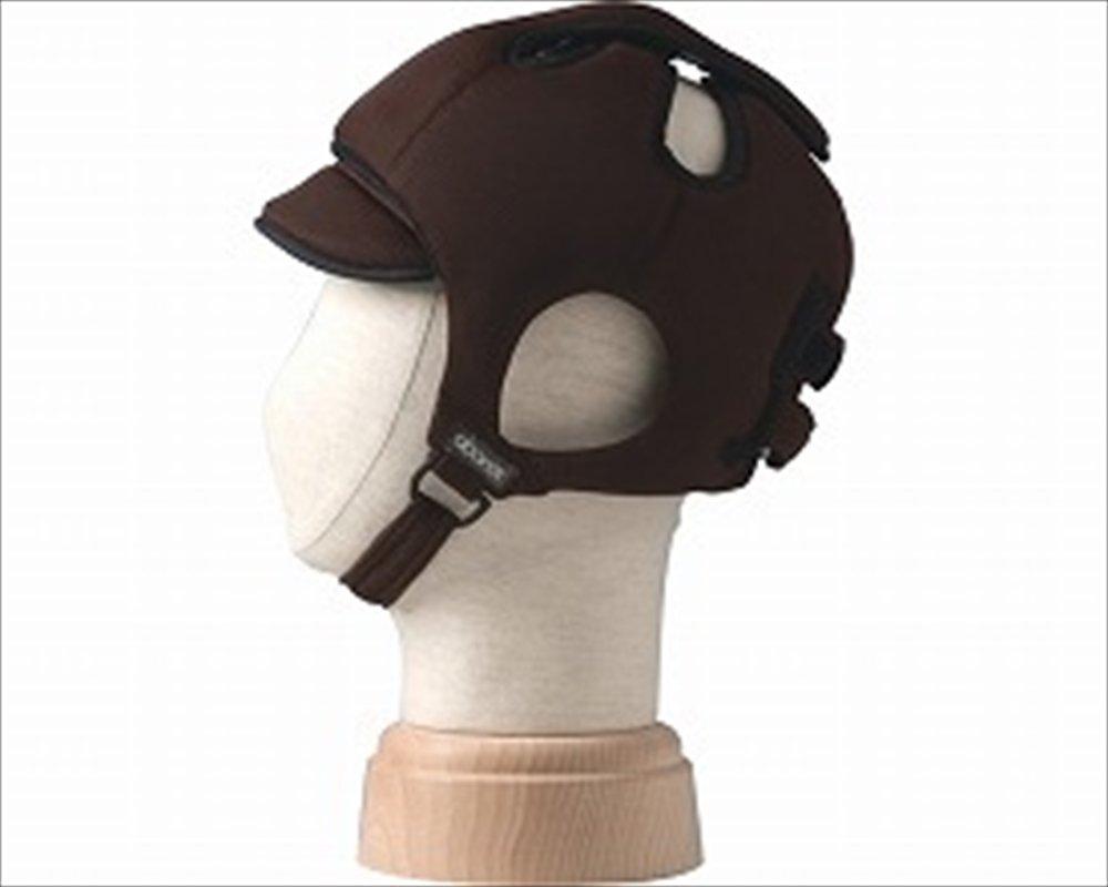 特殊衣料 アボネット ガードCタイプ(後頭部衝撃吸収重視型) メッシュタイプ 2032 W0432 ブラウン B010AO510O