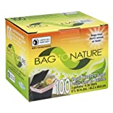 100 Biodegradable Mini Kitchen Bags