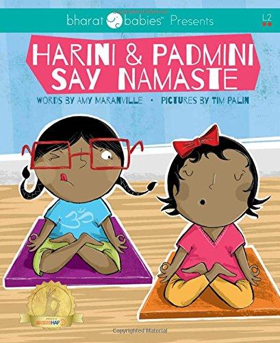 Harini and Padmini Say Namaste (Bharat Babies)