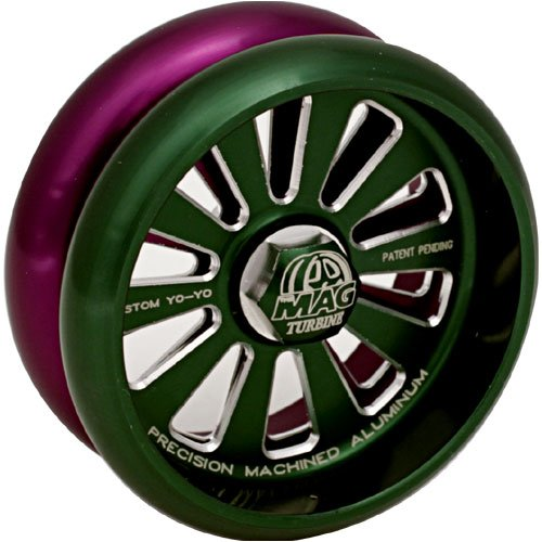 Custom Products MAG Turbine Yo-Yo - Green and -