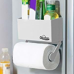 my refrigerator rack 2 pcs strong magnetic fridge paper towel holder to hold. Black Bedroom Furniture Sets. Home Design Ideas