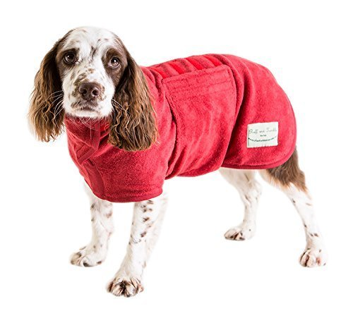 Brick Red XLDog Drying Coat Red XL (2628 Inches)