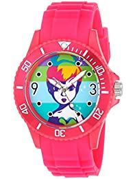 Women's 'Tinker Bell' Quartz Plastic Casual Watch, Color:Pink (Model: WDS000064)
