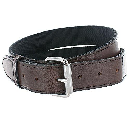 """Hanks ACH101 Kydex Stiffened Belt – 1.5"""" - Brown - Size 40 (Hanks Clothing)"""