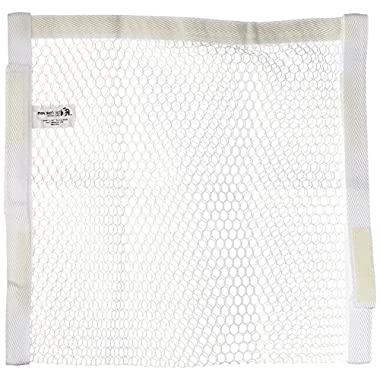 Household Essentials Polyester Sneaker Wash and Dry Bag, White