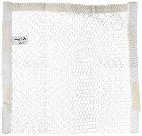Household Essentials 135 Polyester Sneaker Wash And Dry Bag For Laundry Machines   White