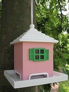 Home Bazaar Bermuda Birdfeeder, Pink