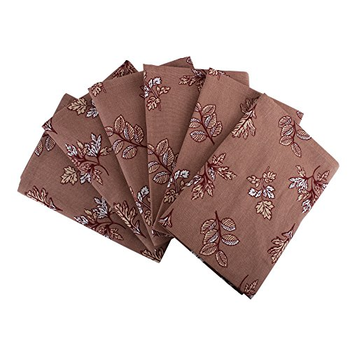 Set of 6 Napkins, 100% Cotton of size 20