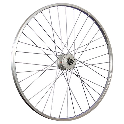 3 opinioni per Taylor Wheels 28 pollici ruota anteriore bici dinamo DH-3N31 622-19 argento