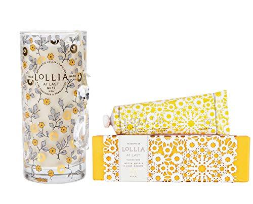 Lollia At Last Handcreme with Petite Perfumed Luminary Set ()