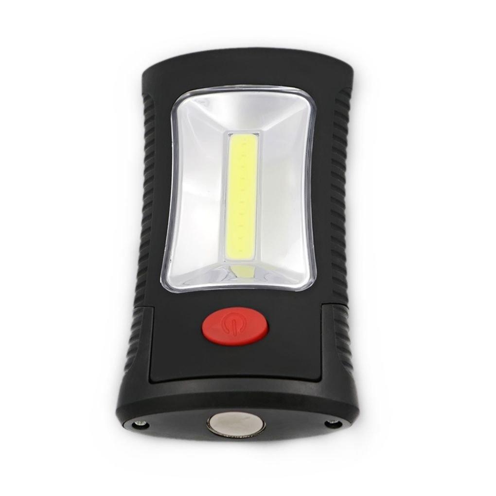 COB LED + 3 LEDs Lá mpara de trabajo linterna Lá mpara de camping colgante magné tica Regard Natral Regard Natral DZ AmzRegard38
