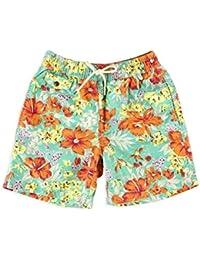 Polo Ralph Lauren Orange Mens Floral Casual Shorts Blue XL