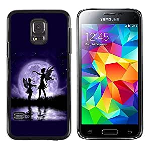 Dragon Case - FOR Samsung Galaxy S5 Mini, SM-G800 - you may be the world - Caja protectora de pl??stico duro de la cubierta Dise?¡Ào Slim Fit