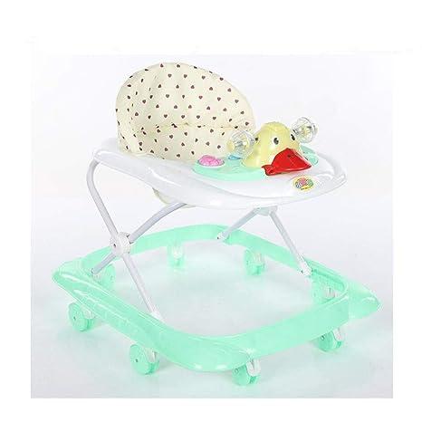 Baby Walker - Cojín universal para bebé, plegable, con música ...