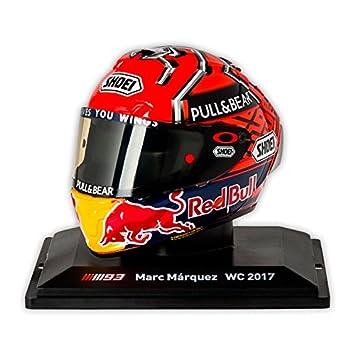 Réplica 1:5 Casco Marc Marquez Repsol Honda Team 2017