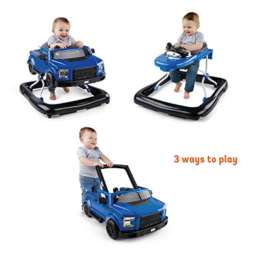 510HJFl5kxL - Bright Starts 3 Ways to Play Walker - Ford F-150 Raptor, Lightning Blue, Ages 6 months +