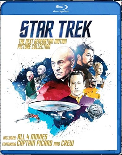 Star Trek: The Next Generation Motion Picture Collection [Blu-ray] (Set Next Generation)