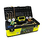 510HJdKEdXL. SL160  - Medium Duty Outfit Welding Kit Victor Type HD Stainless Steel With Case