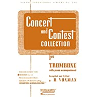 Concert and Contest Collection for Trombone: Solo Book Only (Rubank Educational Library)